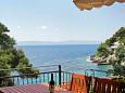 Terrace - view - Studio flat AS-8653-b - Apartments Uvala Torac (Hvar) - 8653