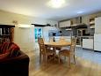 Split, Dining room u smještaju tipa apartment, dostupna klima, dopusteni kucni ljubimci i WIFI.