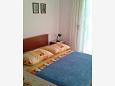Bedroom - Studio flat AS-8673-b - Apartments Uvala Pokrivenik (Hvar) - 8673