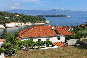 Property Jelsa (Hvar) - Accommodation 8698 - Apartments with sandy beach.
