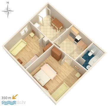 Apartment A-8701-b - Apartments Makarska (Makarska) - 8701