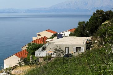 Property Uvala Pobij (Hvar) - Accommodation 8702 - Apartments near sea with pebble beach.