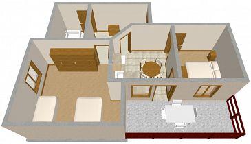 Apartament A-872-a - Apartamenty Sali (Dugi otok) - 872