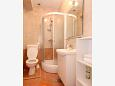 Bathroom - Studio flat AS-8726-b - Apartments Stari Grad (Hvar) - 8726