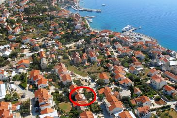 Property Bol (Brač) - Accommodation 8736 - Apartments with pebble beach.