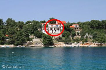 Property Basina (Hvar) - Accommodation 8749 - Apartments near sea with pebble beach.