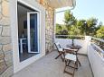 Balcony - Apartment A-8761-e - Apartments Uvala Zastupac (Hvar) - 8761