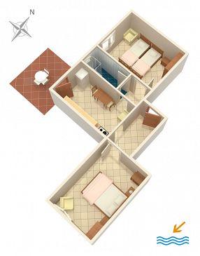 Apartament A-878-a - Apartamenty Zaglav (Dugi otok) - 878