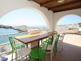 Terrace - Apartment A-8781-a - Apartments and Rooms Uvala Zaraće (Dubovica) (Hvar) - 8781