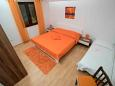 Bedroom - Apartment A-8784-b - Apartments and Rooms Zavala (Hvar) - 8784
