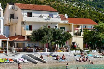 Property Drvenik Donja vala (Makarska) - Accommodation 8807 - Apartments near sea with pebble beach.