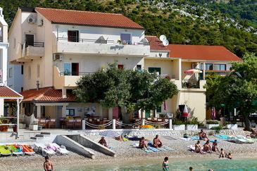 Property Drvenik Donja vala (Makarska) - Accommodation 8807 - Apartments near sea with pebble beach.