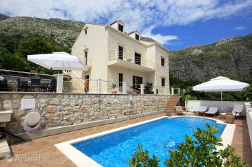 Rožat, Dubrovnik, Property 8815 - Vacation Rentals with pebble beach.