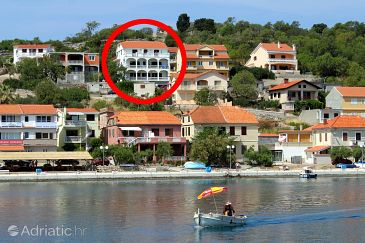 Sali, Dugi otok, Property 890 - Apartments blizu mora with pebble beach.