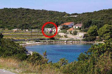 Property Uvala Parja (Vis) - Accommodation 8903 - Vacation Rentals near sea with rocky beach.