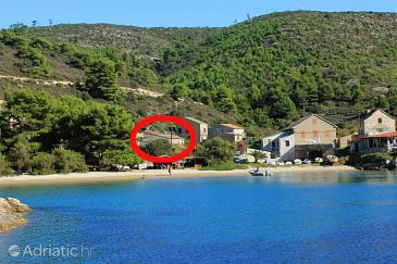 Property Biševo - Uvala Porat (Vis) - Accommodation 8928 - Vacation Rentals near sea with sandy beach.