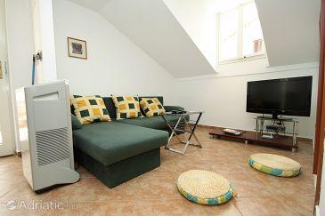 Cavtat, Living room u smještaju tipa apartment, dopusteni kucni ljubimci i WIFI.