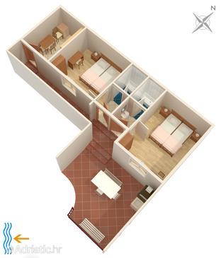 Apartment A-8982-a - Apartments Dubrovnik (Dubrovnik) - 8982