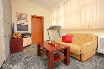 Dubrovnik, Living room u smještaju tipa studio-apartment, dostupna klima i WIFI.