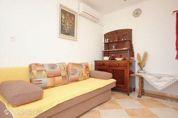 Dubrovnik, Living room u smještaju tipa apartment, dostupna klima.