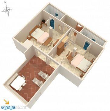 Apartment A-9028-a - Apartments Srebreno (Dubrovnik) - 9028