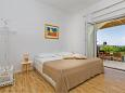 Bedroom 1 - Apartment A-9043-a - Apartments and Rooms Mlini (Dubrovnik) - 9043