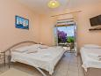 Bedroom - Studio flat AS-9043-a - Apartments and Rooms Mlini (Dubrovnik) - 9043