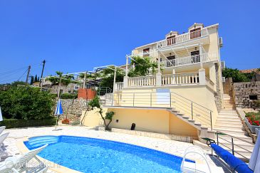 Property Orašac (Dubrovnik) - Accommodation 9088 - Apartments with pebble beach.