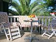 Terrace - Apartment A-9125-b - Apartments Sevid (Trogir) - 9125