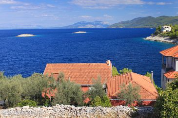 Property Prigradica (Korčula) - Accommodation 9140 - Apartments near sea.