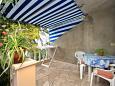 Terrace - Studio flat AS-9141-a - Apartments Prigradica (Korčula) - 9141