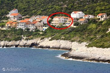 Property Zavalatica (Korčula) - Accommodation 9150 - Apartments near sea with rocky beach.