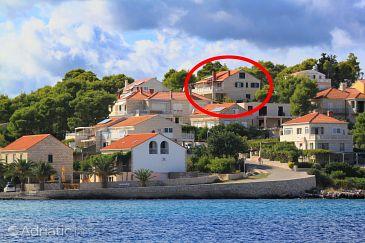 Property Lumbarda (Korčula) - Accommodation 9183 - Apartments near sea with rocky beach.