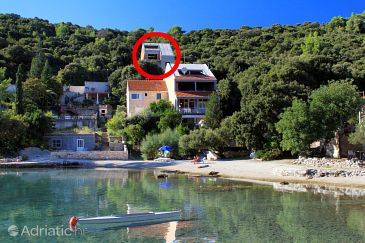 Property Uvala Vrbovica (Korčula) - Accommodation 9225 - Apartments near sea with pebble beach.