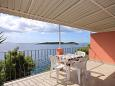 Terrace - Apartment A-9228-b - Apartments Gršćica (Korčula) - 9228