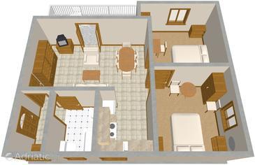 Apartment A-923-a - Apartments Žaborić (Šibenik) - 923