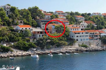 Property Zavalatica (Korčula) - Accommodation 9238 - Apartments near sea.