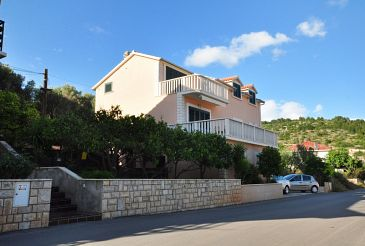 Property Vela Luka (Korčula) - Accommodation 9244 - Apartments near sea with pebble beach.