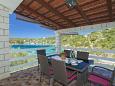 Terrace 1 - House K-9265 - Vacation Rentals Uvala Stratinčica (Korčula) - 9265