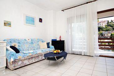 Zavalatica, Living room u smještaju tipa apartment.