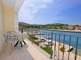 Balcony 1 - Apartment A-9303-a - Apartments Lumbarda (Korčula) - 9303