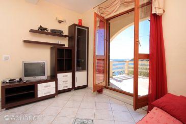 Karbuni, Living room u smještaju tipa apartment, WIFI.