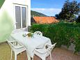 Terrace - Apartment A-9320-c - Apartments Zaglav (Korčula) - 9320
