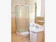 Novalja, Bathroom u smještaju tipa apartment, WIFI.