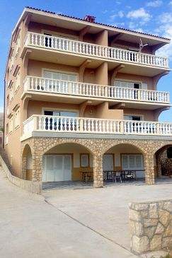 Vidalići, Pag, Property 9351 - Apartments blizu mora with pebble beach.