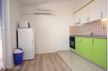 Mandre, Kitchen u smještaju tipa apartment, dostupna klima i WIFI.