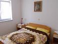 Gajac, Bedroom 1 u smještaju tipa apartment, dopusteni kucni ljubimci i WIFI.