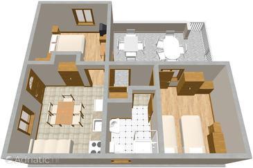 Apartment A-936-a - Apartments Žaborić (Šibenik) - 936