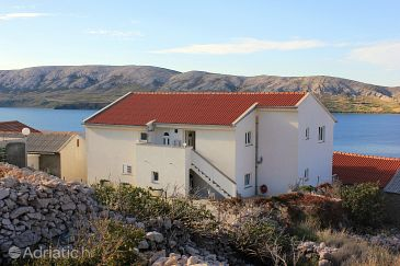 Property Zubovići (Pag) - Accommodation 9365 - Apartments with pebble beach.