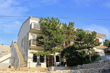 Property Pag (Pag) - Accommodation 9376 - Apartments with pebble beach.